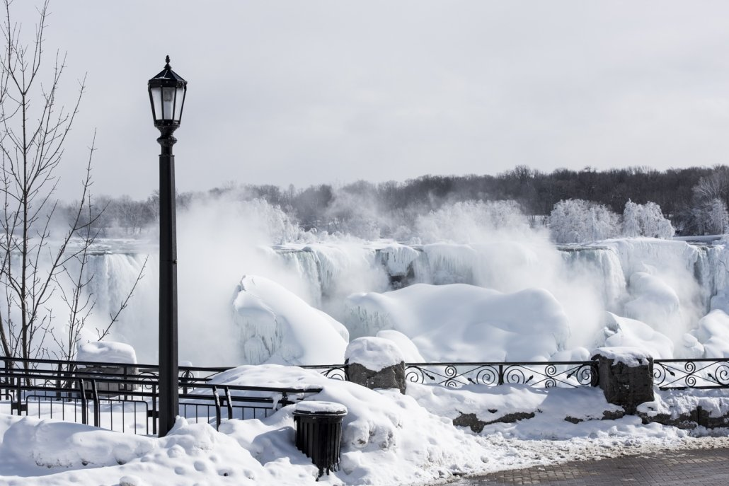 winter at niagara