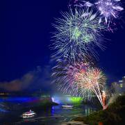 wide niagara falls fireworks